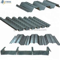 زنك طلاء Z70g-Z275g مغلفن الأرضية الفولاذ المموج ورقة في قضبان فولاذية