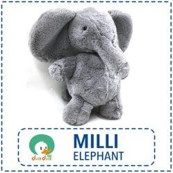 Kind-Plüsch spielt angefüllten Qualitäts-Plüsch-Spielwaren des neue Ankunfts-die reizenden Plüsch-Spielzeug-Elefant-33cm sitzenden