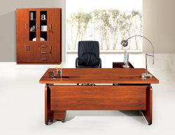 La taille peut être personnalisé Deluxe maître d'art Boss Bureau exécutif de bois (FECSD016)
