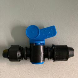 배관을%s 소형 플라스틱 빠른 적당한 자물쇠 테이프 연결기 벨브