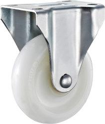 5 pouces de roue en nylon blanc Roulette rigide