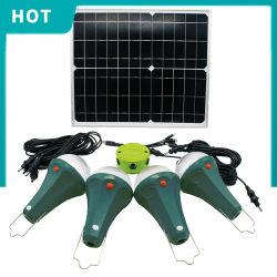 ホーム太陽LEDの軽い太陽系携帯用省エネライト20W太陽軽く全体的な日の出