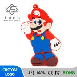 Meilleur Prix de vente en gros caractère Mario Memory Sticks Pendrive USB Lecteur Flash USB