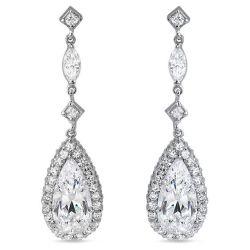 Wedding Pearl Earring Bijoux, Bijoux, CZ Bridal Earring Earring