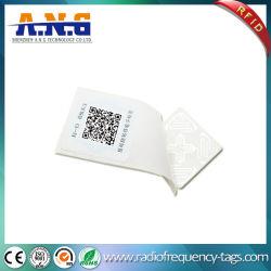 13.56Мгц одноразовых бумаги печатной системы RFID хрупкий наклеек