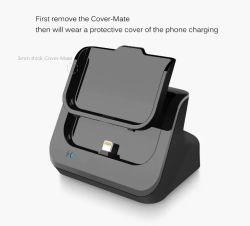 Station de charge station Chargeur d'accueil de bureau pour l'iPhone 6/67/7 : plus/Plus/6S/6S Plus