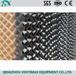 5090/7090/7060 Wasser Black Color Paper Industrial/Cool Cell/Evaporative/Honey Comb Cellulose/Wet Curtain/Cooling Pad für Greenhous/Poultry/Swine Farm/Air Cooler