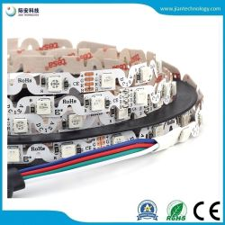 5050 RGB تقنية الثني على شكل S IP20 لا مقاومة للماء DC12 فولت شريط LED مرن