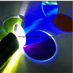 Ar recouvert de verre coloré optique des filtres personnalisés