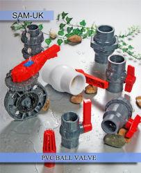 Un matériau plastique PVC Clapet à bille pour approvisionner en eau