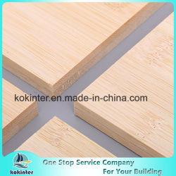 de twee-Laag van het Comité van het Bamboe van het paneel van het Bamboe van 10mm de Horizontale Raad van het Bamboe