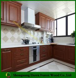 American Style MFC Meubles de cuisine en bois avec Shaker porte armoire de cuisine