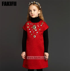 Hot Sale bébé hiver robe robe fashion meilleure fille aux fleurs
