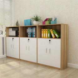 El color de madera opcional Armario de libro de armario de llenado de muebles de oficina
