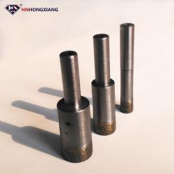 Cnc-Finger-Diamant-Kernbohrer biß für Glasprägescherblock