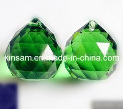 As peças de cristal verde lustres de cristal pendente de iluminação Acessórios (KS28019)