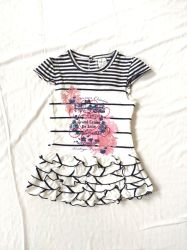 Camadas Muti mangas curtas saias vestuário para bebé Roupa de criança
