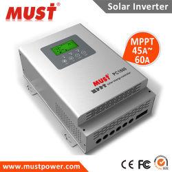ファンCooling MPPT Solar Charge Controller 45A 60A 12V/24V/36V/48V Auto
