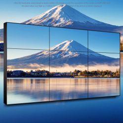 شاشة LCD مقاس 55 بوصة من Samsung مقاس 1,7 مم بحائط فيديو ذو إطار خارجي سلس 3*3 مع وحدة التحكم