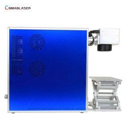 Max Mini métal autocollant machine laser à fibre 20W / marqueur laser