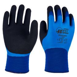 13G Terry triple revêtement acrylique en nylon étanche gant de travail thermique