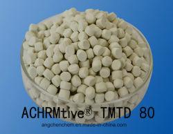 80 Pre-Dispersed Achrm@ Tmtd резиновые химических веществ Masterbatch CAS № 137-26-8+EPDM