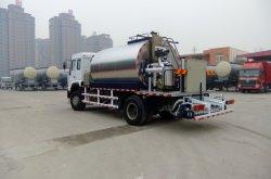 De de kleine 4X2 Opgezette Spuitbus van het Bitumen/Vrachtwagen van de Verdeler van de Druk van het Bitumen voor Verkoop