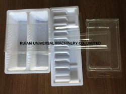 Автоматическая вакуумного формования Thermoform в блистерной упаковке пластиковые упаковочные машины