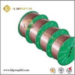Cordon d'acier des pneus sur le fil enduit par du cuivre