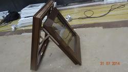 ルーフウインドウ PVC ビニール製のアウニングドアウインドウ