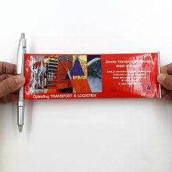 Banner de publicidad de plástico Bolígrafo con Flyer Bolígrafo Calendario