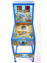 Botella doble Gumball Pinball máquina expendedora (TR902)
