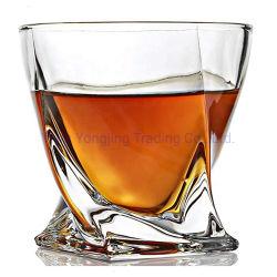 Premium sin plomo, degustación de torsión de vasos de cristal para beber whisky de gran tamaño 10 Oz elegante caja de regalo para vaso de vino Whisky Taza Mug