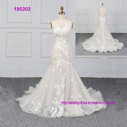 Русалки свадебные платья 2019 оптовой новый дизайн кружева женская группа износа