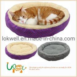 Verschillende OEM van het Kussen van het Bed van de Kat van de Hond van het Comfort van het Ontwerp Zachte Leverancier