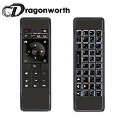 Mini-clavier WiFi Mini-souris de l'air P1 de l'air de la souris avec l'air de la souris sans fil rétroéclairé