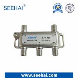 Для использования внутри помещений CATV 4 способ разветвителя с частотой 1 Ггц