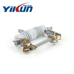 磁器の絶縁体が付いている11kv-33kv 100Aの排除またはドロップアウトまたは排気切替器のヒューズ