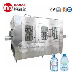 bottiglia di plastica dell'animale domestico 3L/5L/8L/10L che beve l'imballaggio di contrassegno d'avvitamento di coperchiamento di riempimento di lavaggio di salto automatico dell'acqua della bevanda pura della bibita analcolica/macchina per l'imballaggio delle merci