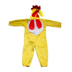 子供のためのおかしいCosplay新しいデザイン鶏の衣裳