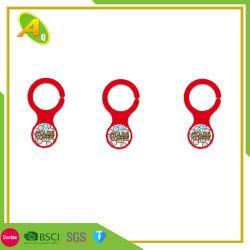 Дешевые цены металлических судов цепочки ключей передвижной маркер Caddy монеты без окраски (004)
