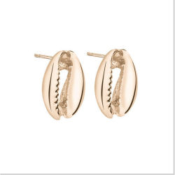 مجوهرات الموضة للنساء الذهب الشركة الذهبية كاوري شل مع الزنك سبائك الأوترويد