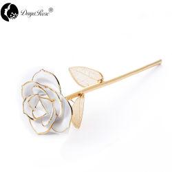 Daiya White Rose 24K Gold (bladgoud) Promotion Gift