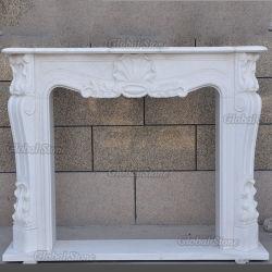 Custom Stone Mantel Marble Open haard Surround (GSMF-261)