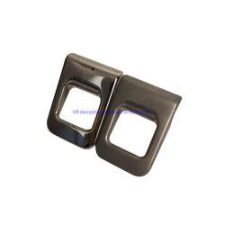 Auto Parts Piezas de bloqueo moldeado a presión de aluminio chapado de empuñadura de puerta de coche de alquiler de piezas de repuesto Piezas