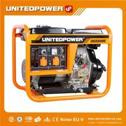 Nations 5KW de puissance 10HP Electric petit générateur diesel portable