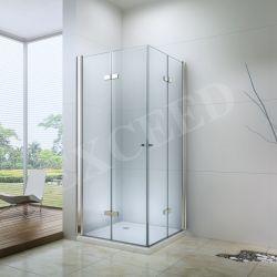 고품질 목욕탕 선회축 유리제 문 유리제 샤워 오두막 사각 샤워 스크린 폴딩 샤워 문 유리제 샤워 울안 (EX-213L)