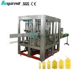 Completamente automática de la cocina de líquido el aceite de oliva vegetales comestibles Máquina Tapadora de llenado de botellas PET
