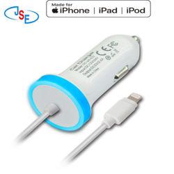 Mfi la foudre au chargeur de voiture pour Apple iPhone 6S/5/6/7/6 ainsi que l'iPod touch Nano