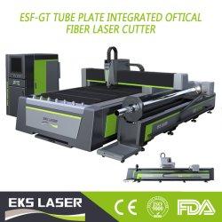 Tubo de aço redonda, rectangular CNC Metálico e formas de Perfis Oval Máquinas de processamento laser